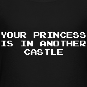 Your Princess is Another Castle / Geek / Gaming Skjorter - Premium T-skjorte for tenåringer