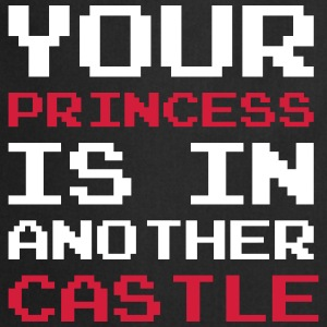 Your Princess is Another Castle / Geek / Gaming Forklæder - Forklæde