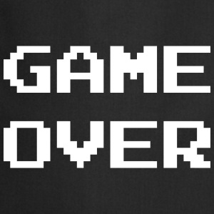 Game Over / Geek / Gaming / Gamer / Gamer / Player Kookschorten - Keukenschort