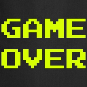 Game Over / Geek / Gaming / Gamer / Gamer / Player Forklæder - Forklæde