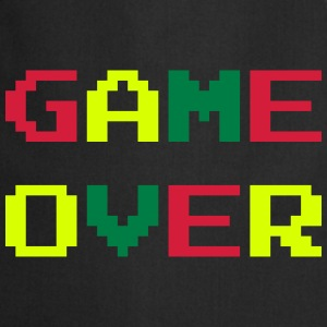 Game Over / Geek / Gaming / Gamer / Gamer / Player Forklær - Kokkeforkle