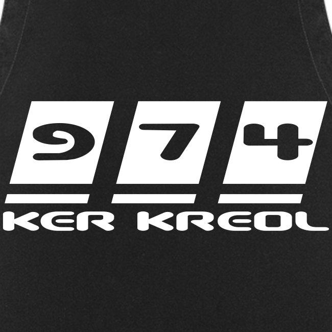 Tablier de cuisine  974 Ker Kreol
