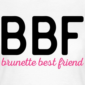 Brunette Best Friend Funny Quote Tee shirts - T-shirt Femme