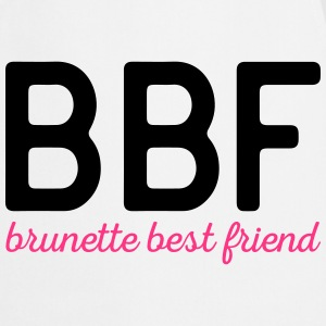 Brunette Best Friend Funny Quote  Aprons - Cooking Apron