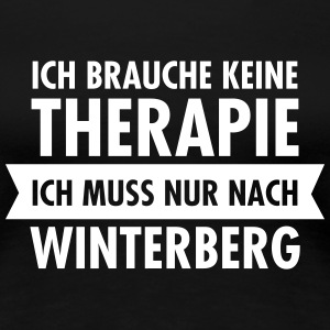 Therapie - Winterberg T-Shirts - Frauen Premium T-Shirt