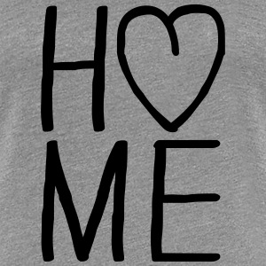 i love Home Herz T-Shirts - Women's Premium T-Shirt