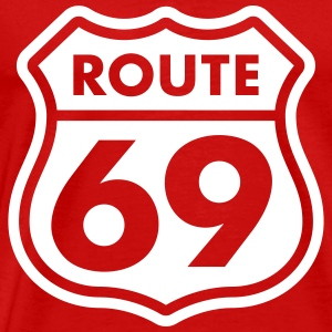 Route 69 Tee shirts - T-shirt Premium Homme