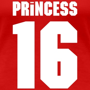 Princess 2016 team player T-Shirts - Women's Premium T-Shirt