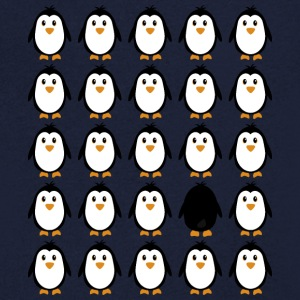 Penguin Colony T-Shirts - Men's V-Neck T-Shirt