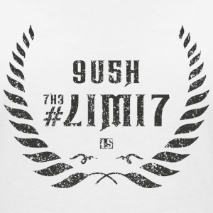 push the limit leet grey T-Shirts - Frauen T-Shirt mit V-Ausschnitt