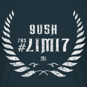 push the limit leet white T-Shirts - Männer T-Shirt