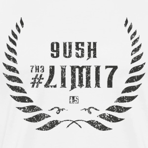 push the limit leet grey T-Shirts - Männer Premium T-Shirt