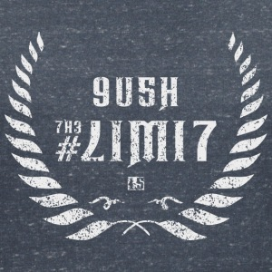 push the limit leet white T-Shirts - Frauen T-Shirt mit V-Ausschnitt