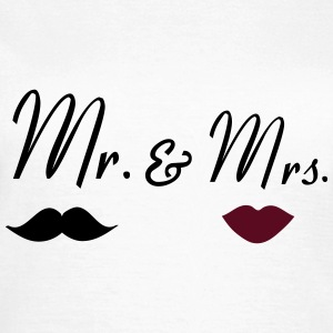 mr_mrs_2 T-Shirts - Frauen T-Shirt