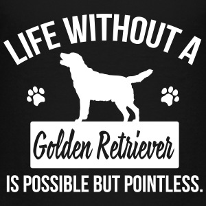 Dog shirt: Life without a Goldie is pointless Shirts - Teenage Premium T-Shirt