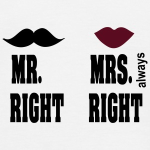 mr_mrs_22 T-Shirts - Männer T-Shirt
