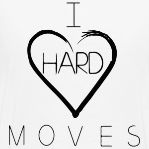 I H(e)ard Moves Backprint - Männer Premium T-Shirt