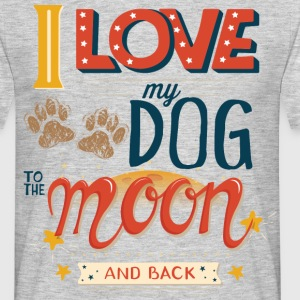 Moon Dog Light T-shirts - T-shirt herr