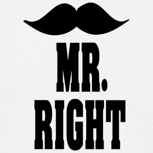mr_right T-Shirts - Männer T-Shirt