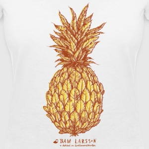 The Pineapple Experiment - Frauen T-Shirt mit V-Ausschnitt