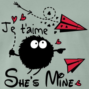 She's mine Men's Premium T-Shirt - Men's Premium T-Shirt