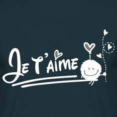 Je t'aime cute Men's T-Shirt