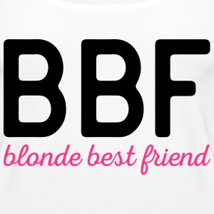 Blonde Best Friend Funny Quote Tops - Frauen Premium Tank Top