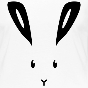 Hare lapin bunny bunny lapin lièvre Manches longues - T-shirt manches longues Premium Femme