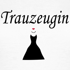 trauzeugin_222 T-Shirts - Frauen T-Shirt