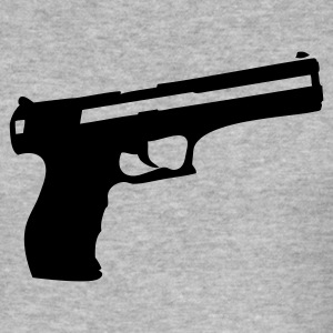 Eigeel Pistol guns T-shirts - slim fit T-shirt