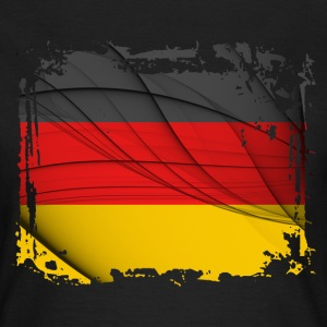 Deutschland Flag - Women's T-Shirt