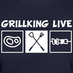 Grillking Live T-Shirts - Frauen Bio-T-Shirt