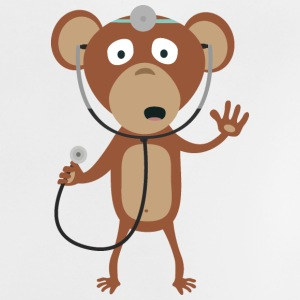 monkey doctor Baby Shirts  - Baby T-Shirt