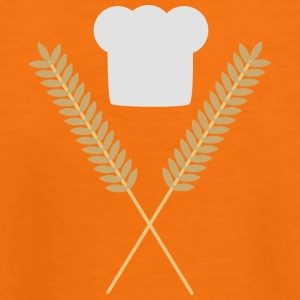 Bakers Cap with wheat Shirts - Kids' Premium T-Shirt