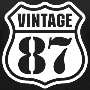 Vintage 87 T-Shirts - Women's V-Neck T-Shirt