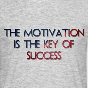The Motivation Is The Key Of Success - T-shirt Homme
