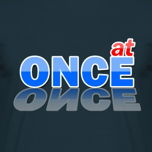 at ONCE Logo - Männer T-Shirt