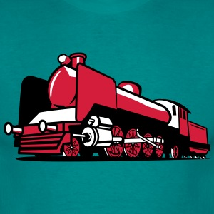 dampflok railroad tender T-Shirts - Men's T-Shirt