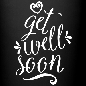 Get Well Soon Mugs & Drinkware - Full Colour Mug