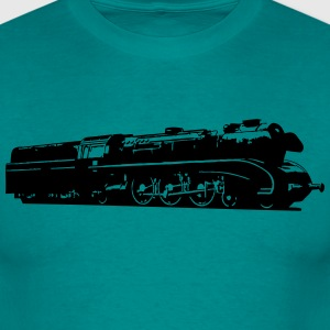 dampflok railroad locomotive T-Shirts - Men's T-Shirt