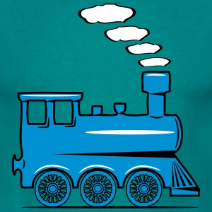 dampflok railroad locomotive toy T-Shirts - Men's T-Shirt