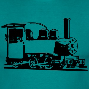 dampflok railroad lok small T-Shirts - Men's T-Shirt