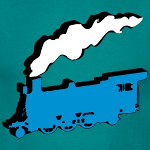 dampflok art railroad T-Shirts - Men's T-Shirt