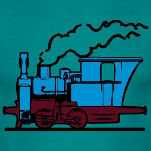 dampflok railroad small T-Shirts - Men's T-Shirt