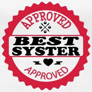 Approved best syster T-shirts - Premium-T-shirt dam