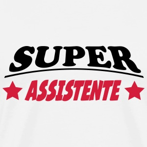 Super assistente T-shirts - Herre premium T-shirt