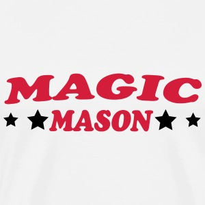 Magic mason T-shirts - Herre premium T-shirt