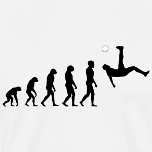 Evolution Football #1 - Overhead kick - Men's t-sh - Men's Premium T-Shirt