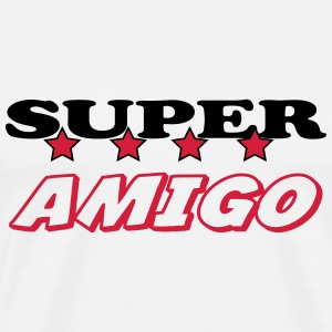 Super amigo T-Shirts - Men's Premium T-Shirt
