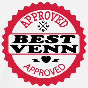 Approved best venn T-Shirts - Männer Premium T-Shirt